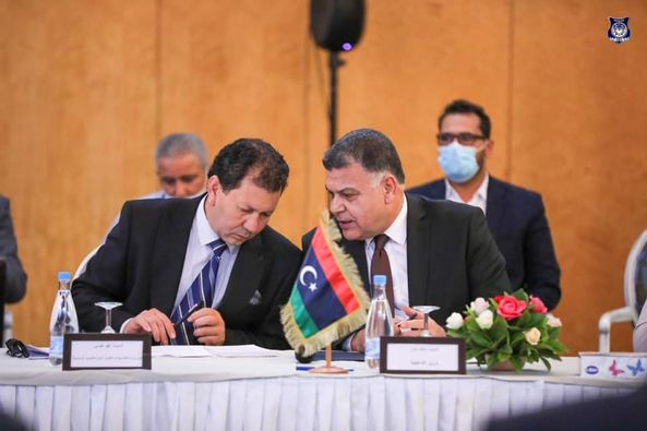 عقد اجتماع تقابلي بمدينة جربة التونسية بين الجانب الليبي والجانب التونسي بشأن اعتماد البروتوكول الصحي بين البلدين